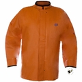 Grundens Brigg 411 Jacket (No Hood) W/Built-in Neoprene Cuffs PVC/Cotton