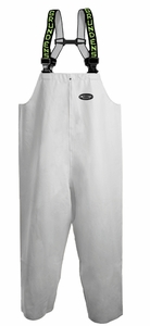 Grundens Clipper 116 Bib Pants PVC/Cotton -White