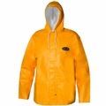 Grundens Clipper 82 Parka Hooded Jackets PVC/Cotton -Orange