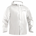 Grundens Petrus 82 Parka Hooded Jackets PU/Poly -White