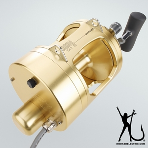 Hooker Electric Tiagra Motor with Remote130A Reel