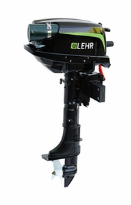 LEHR Propane Marine Outboard Engine - 5.0 Horsepower - Short Shaft