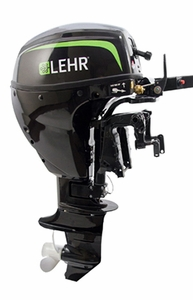 "LEHR Propane Marine Outboard Engine- 9.9HP-15"" Shaft Manual Start"