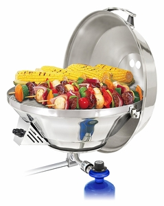 """Magma 15"""" Marine Kettle 3 Combination Stove & Gas Grill A10-207-3"""