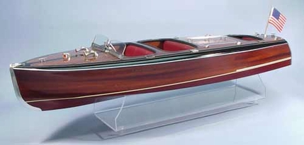 1938 Chris Craft Triple Cockpit Barrel Back