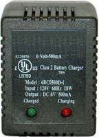 SLA Battery Charger, 6V