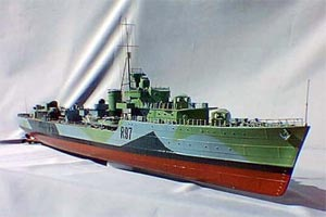 HMS Grenville Fleet Destroyer
