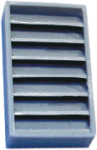 Louvered Vent, 5/8""