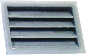 Louvered Vent, 1-1/8""