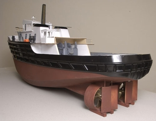 Tugboat Hull Only