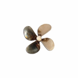 "4 Blade Propeller, 2.5"" Dia. Sm. Pitch"
