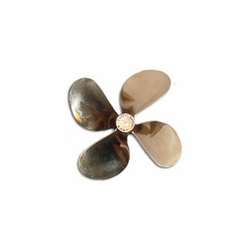 "4 Blade Propeller, 3"" Dia. Sm. Pitch"