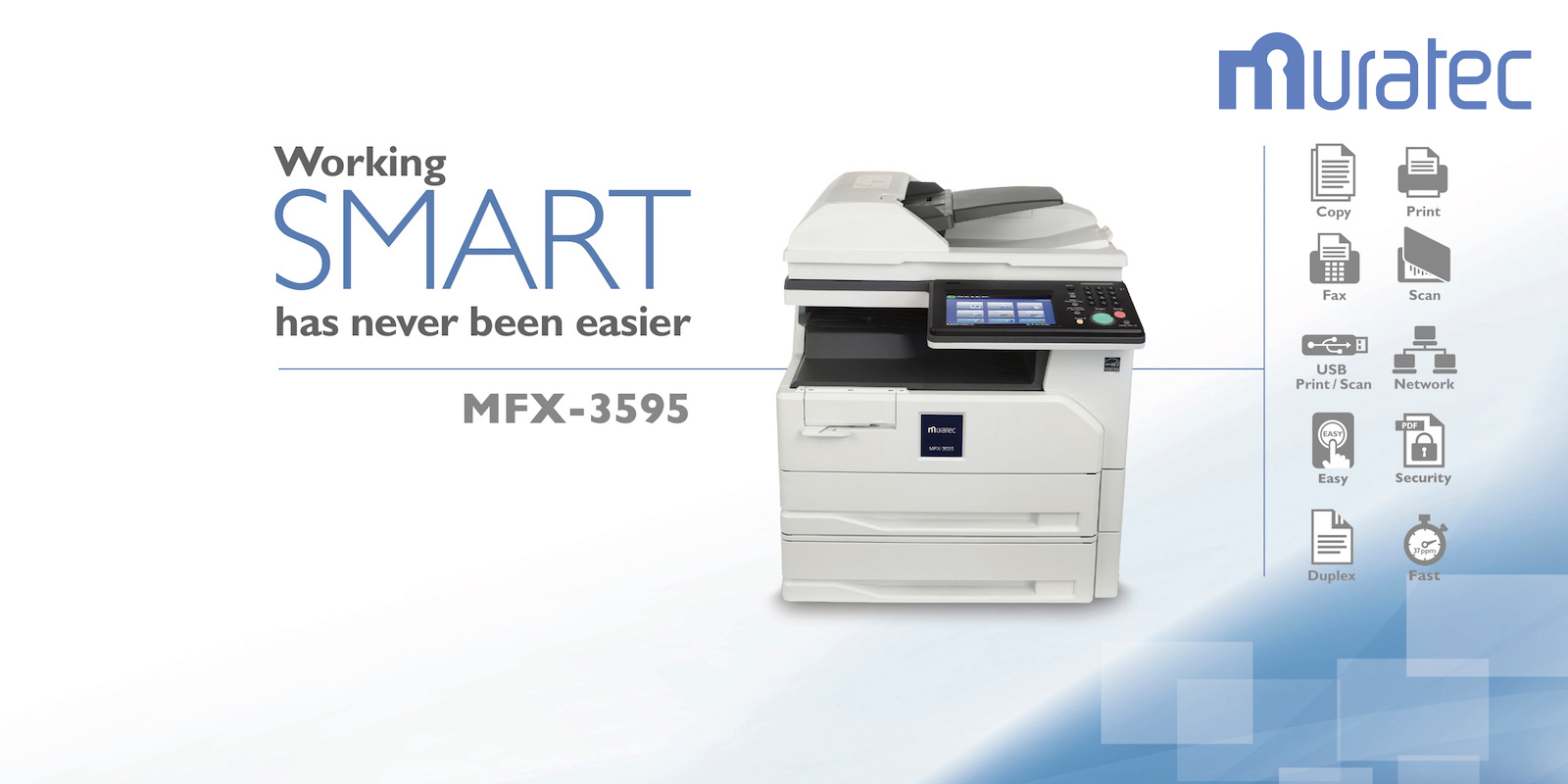 Muratec MFX-3595 Monochrome Copier