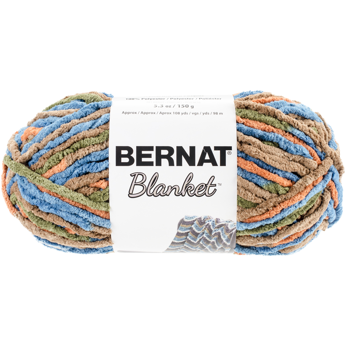 Knitting Warehouse Shipping : Bernat blanket yarn cozy cabin oz