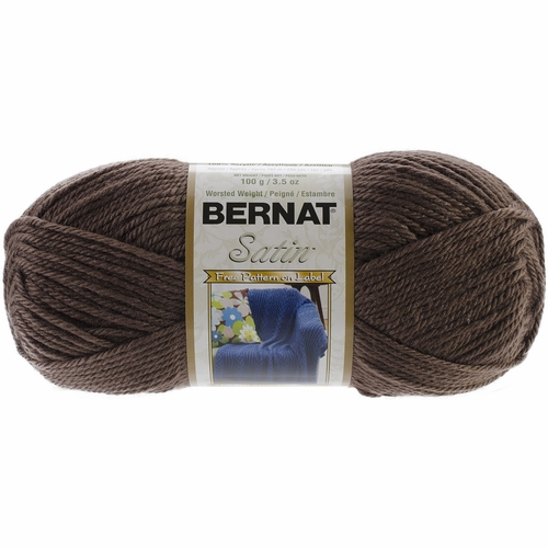 Knitting Hook Walmart : Bernat satin yarn