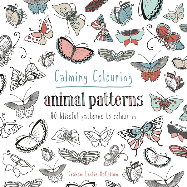 Coloring Animals With Patterns : Calming coloring animal patterns
