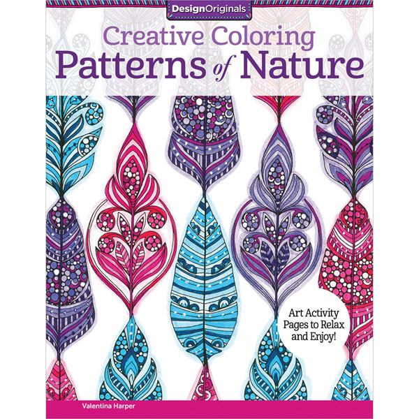 Creative Colouring Patterns Of Nature : Creative coloring patterns of nature