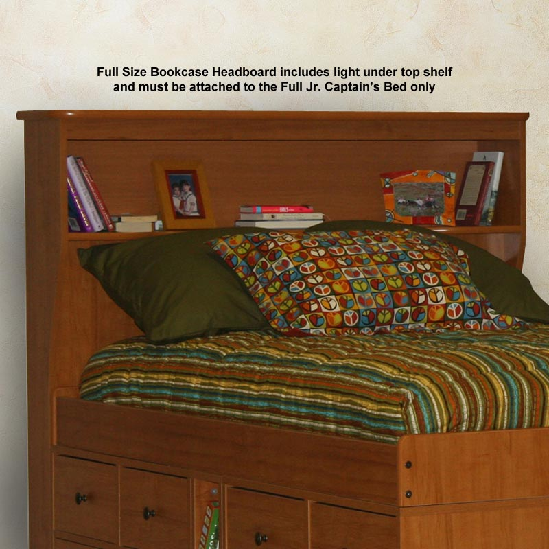 jr captains bed with 8drawers