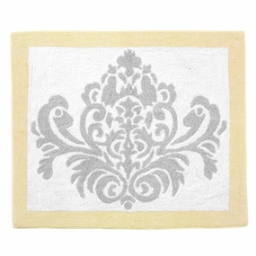 Avery Yellow and Gray Accent Rug
