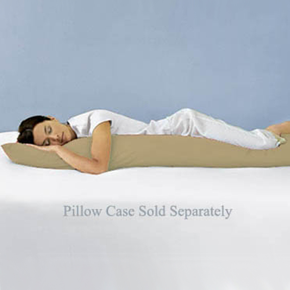 Avery Blue and Gray Body Pillow Case