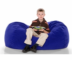 Blueberry Microsuede 4' Lounger Jr.