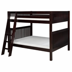 Camaflexi Bunk Beds in Cappuccino Finish