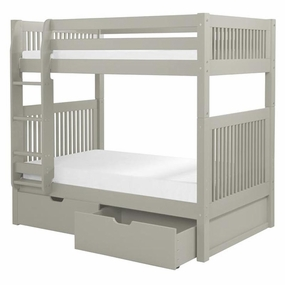 Camaflexi Bunk Beds in Grey Finish