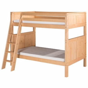 Camaflexi Bunk Beds in Natural Finish