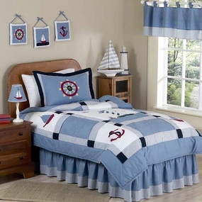 Come Sail Away Kids Bedding Collection