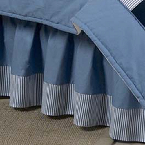 Come Sail Away Full/Queen Bed Skirt