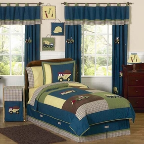 Construction Kids Bedding Collection