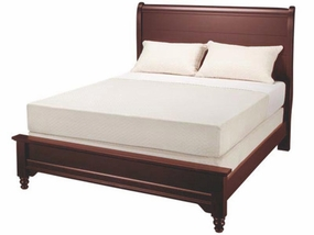 Country Sleigh Bed shown in Cherry