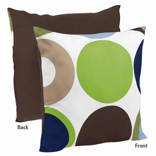 Designer Dot Throw Pillow
