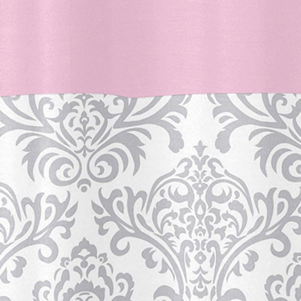 Emejing Pink Grey Shower Curtain Pictures - 3D house designs ...