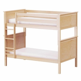 Jackpot Twin/Twin Panel Bunk Bed in Natural