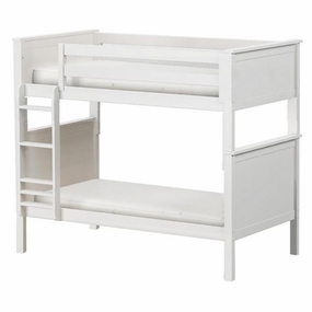 Jackpot Twin/Twin Panel Bunk Bed in White