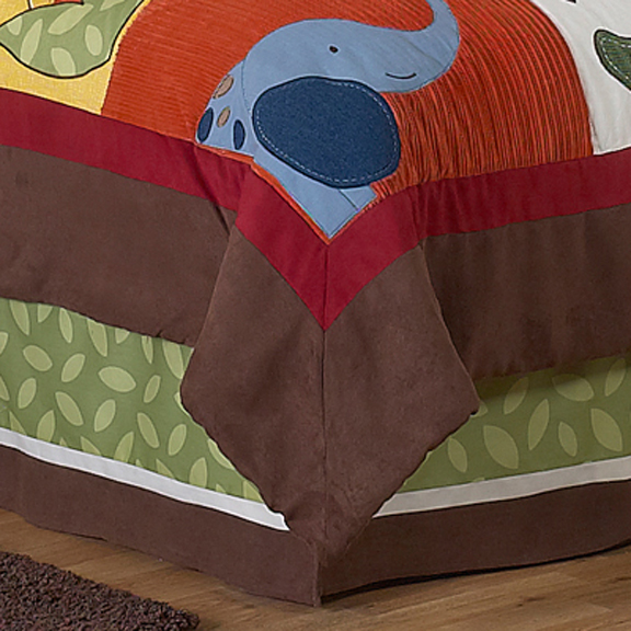 Jungle Time Full/Queen Bed Skirt