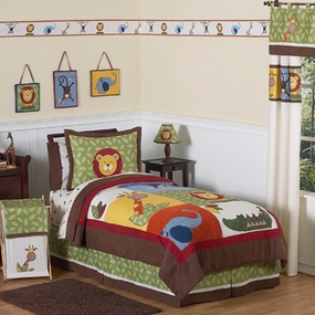 Jungle Time Kids Bedding Collection
