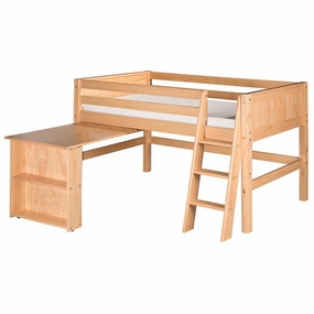 Camaflexi Loft Beds in Natural Finish
