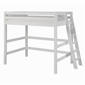 Camaflexi Loft Beds in White Finish