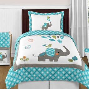 Mod Elephant Kids Bedding Collection