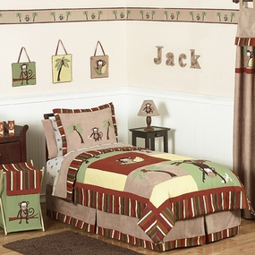 Monkey Kids Bedding Collection