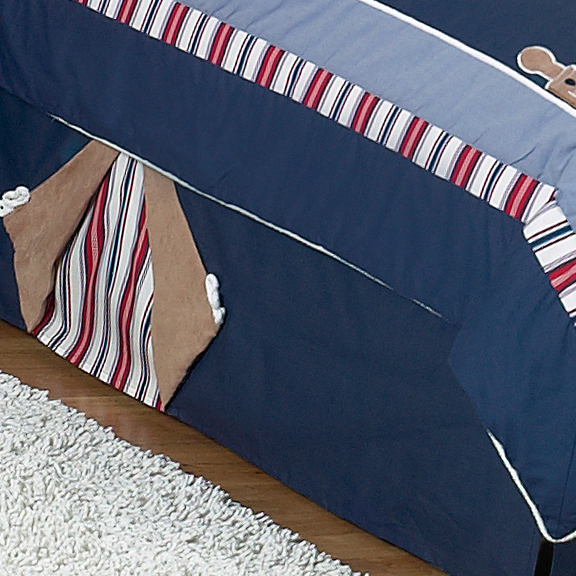 Nautical Nights Full/Queen Bed Skirt