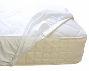 Organic Cotton Waterproof Fitted Mattress Protector