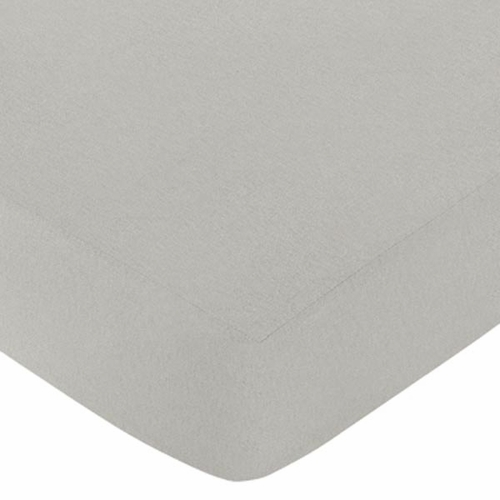 Safari Outback Gray Crib Sheet