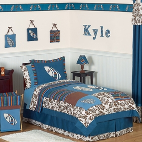 Surf Blue Bedding Collection