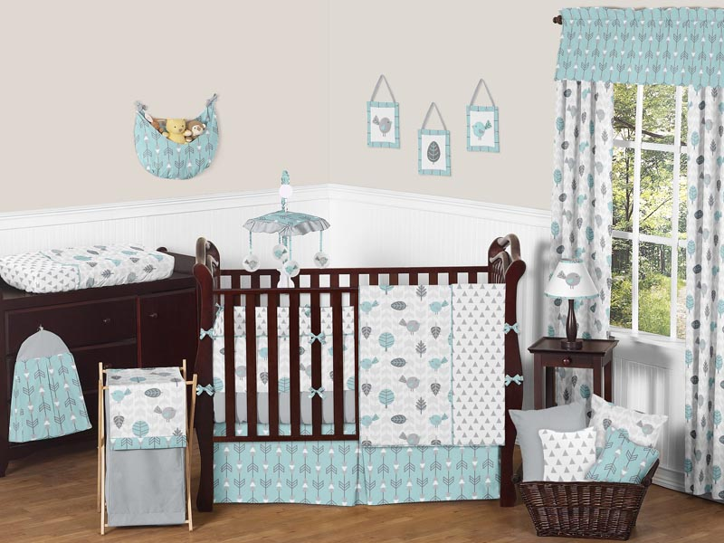 Earth and Sky Crib Bedding Set