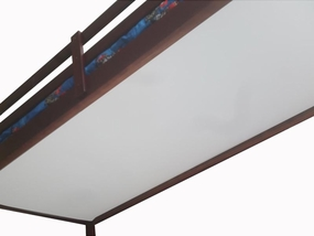 Under Bed Slat Cover