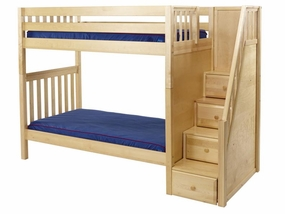 Wopper High Bunk Bed with Staircase