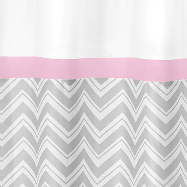 Awesome Grey And Pink Shower Curtain Gallery - Best image 3D home ...